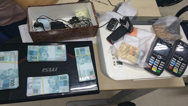 PM prende cinco homens em Goiânia com mais de R$ 45 mil em notas falsas