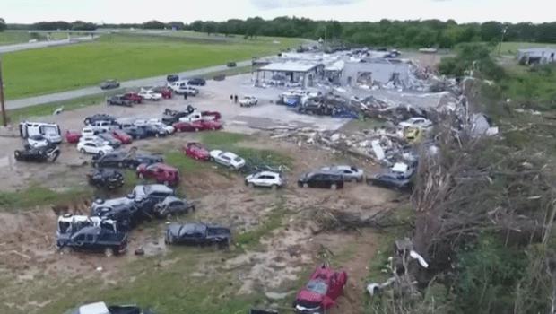 Tornados no Texas deixam pelos cinco mortos e 50 feridos