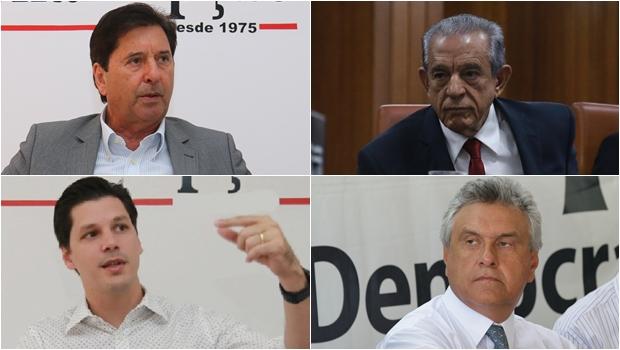 Disputa na oposição resulta de uma guerra letal pela hegemonia dos Vilelas contra Iris e Caiado