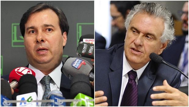 Rodrigo Maia critica midiatismo egoísta do senador Ronaldo Caiado