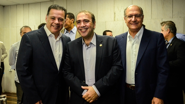 Marconi e Alckmin são homenageados em evento nacional do PHS