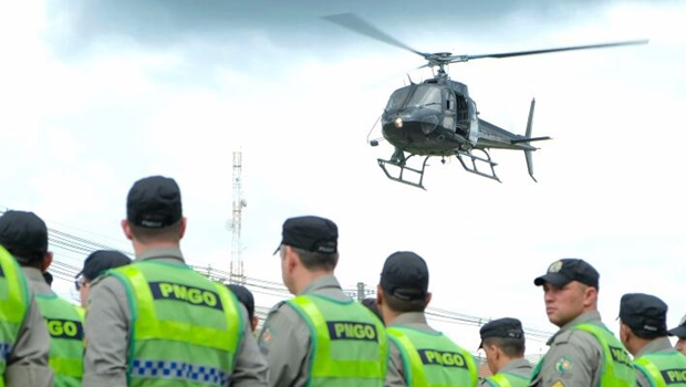 Vereadores querem homenagear policiais que atuam em Goiânia
