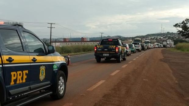 Greve geral: Goiás tem pelo menos quatro rodovias bloqueadas nesta sexta