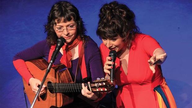 Dupla de cantoras francesas se apresenta no Teatro Sesc Centro às 20 horas