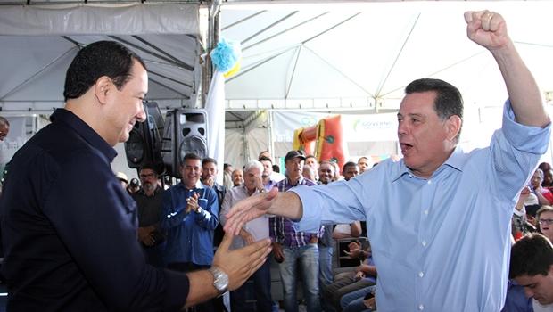 Hildo do Candango e Marconi Perillo juntos por Goiás
