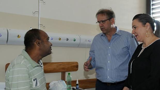 Governador entrega 96 novos leitos no HGP