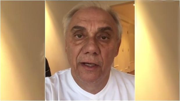 Com pneumonia, Marcelo Rezende é internado em estado grave