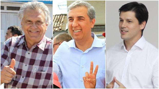Pesquisa Grupom: Caiado tem 40%, Eliton 14% e Daniel 12%