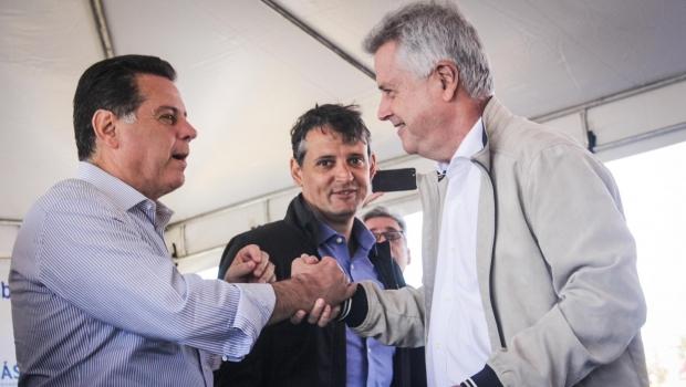 Governos de Goiás e do DF entregam Estação de Tratamento de Esgoto de Águas Lindas