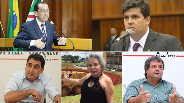 """7 políticos que devem disputar as cinco vagas """"disponíveis"""" para deputado federal em 2018"""
