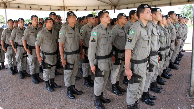 Solenidade marca apresentação de novos policiais militares em Jataí