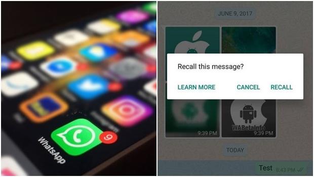 Recurso para apagar mensagem já enviada no WhatsApp deve ser liberado em breve