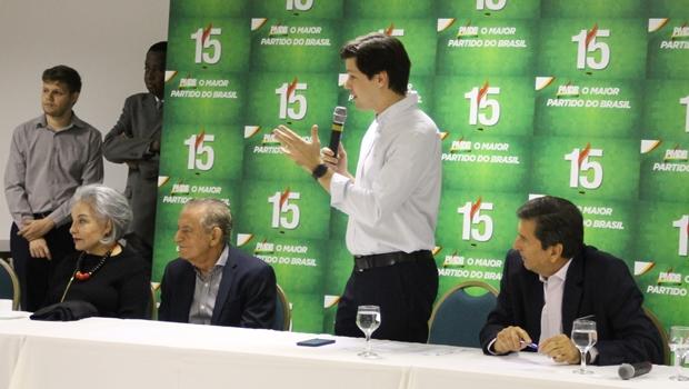 Prefeito do PMDB diz que Daniel Vilela não usa estrutura do PMDB para montar chapa de deputado