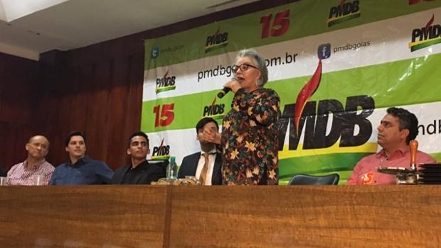 """Em """"surto partidário"""", Dona Íris manda recado a Caiado e elogia Daniel Vilela"""