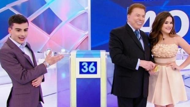 Após nova saia justa, Maisa chora e abandona palco de Sílvio Santos