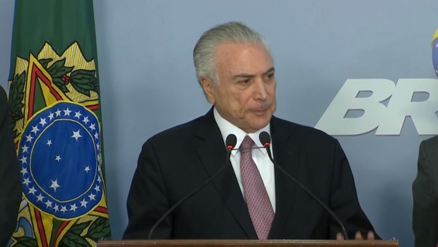 """Temer questiona provas sobre corrupção e diz que denúncia da PGR é """"ficção"""""""