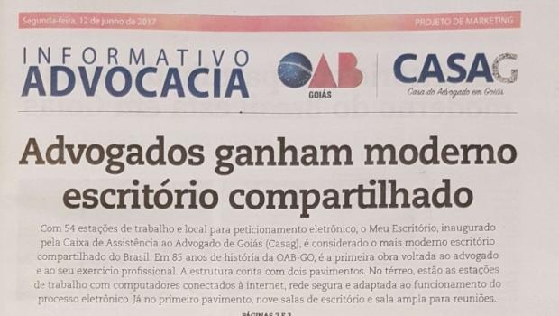 Enquanto gestão reclama de dívidas, OAB-GO e Casag gastam com propaganda e6728a0384