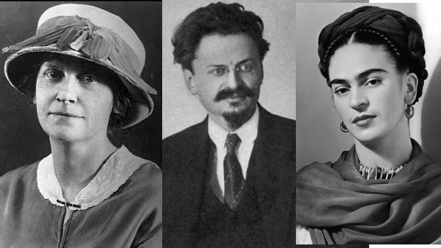 Trotski teve casos amorosos com a pintora Frida Kahlo e com uma prima de Winston Churchill