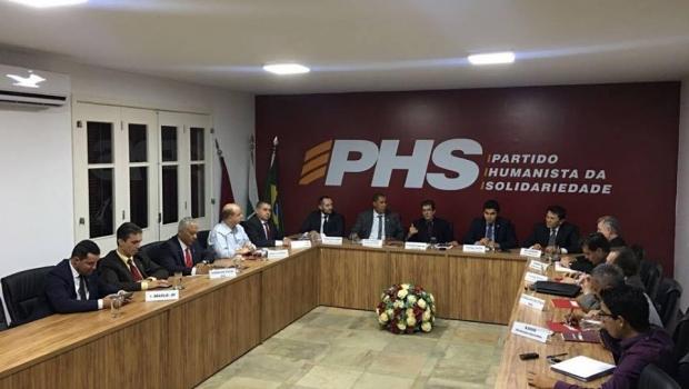 PHS realiza encontro no DF enquanto Eduardo Machado comanda reunião em Goiânia