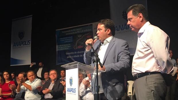 "Roberto Naves: ""Anápolis terá de agradecer por décadas ao governador Marconi"""