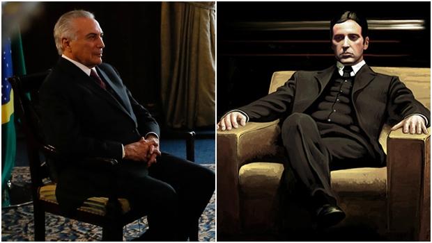 """O filme """"O Poderoso Chefão 3"""" explica o empresário Joesley Batista e o presidente Michel Temer?"""