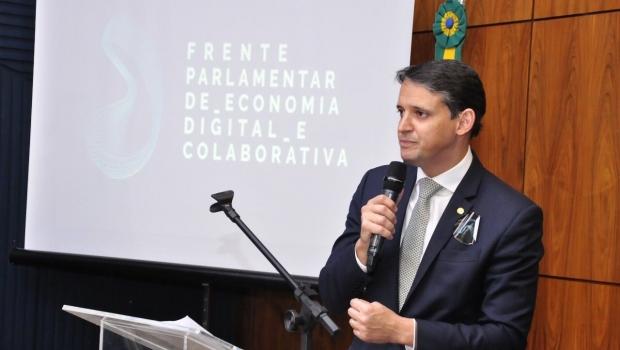 Thiago Peixoto palestra em evento do Google sobre papel do Legislativo nas startups