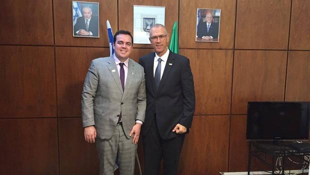 Embaixador anuncia visita de empresários israelenses a Aparecida de Goiânia