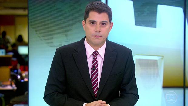 Evaristo Costa saiu da Globo porque não permitiram que se tornasse o William Bonner 2