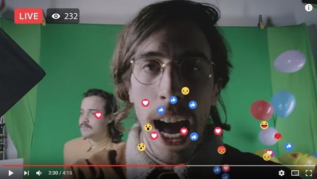 O Terno resume uso das redes sociais no mais do que criativo videoclipe de Não Espero Mais