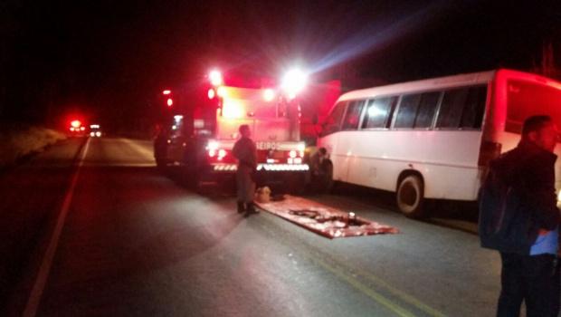 Colisão entre van e caminhão deixa 10 pessoas feridas em Goiás