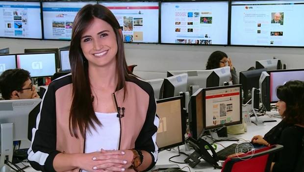 Jornalista Mari Palma, da Globo, assume namoro com colega de emissora