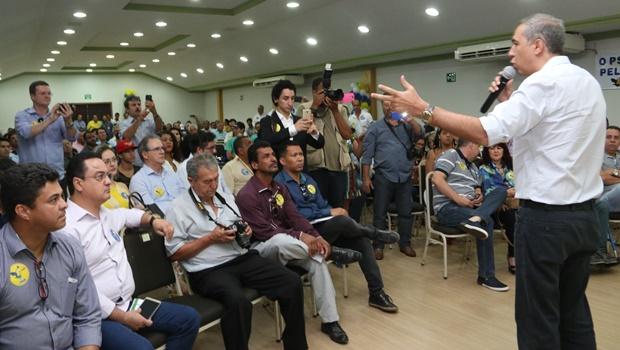"""Em encontro do PSDB, José Eliton defende """"luta do bom debate e argumentos"""""""