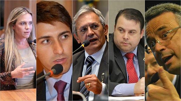 Cinco parlamentares estariam envolvidos em esquema de propina