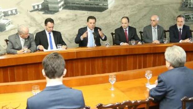 """""""Queremos deixar um legado promissor para o futuro de Goiás"""", diz Marconi"""