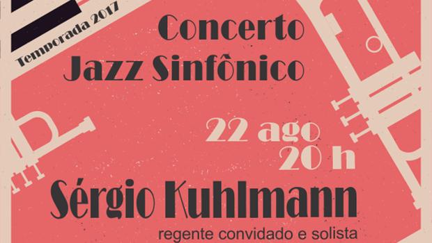 Orquestra Sinfônica se apresenta no Teatro Sesi nesta terça-feira (22/8)