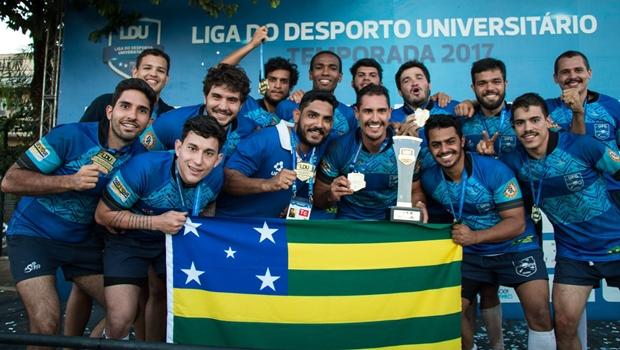 Equipe de rugby da UFG faz vaquinha para conseguir disputar campeonato internacional