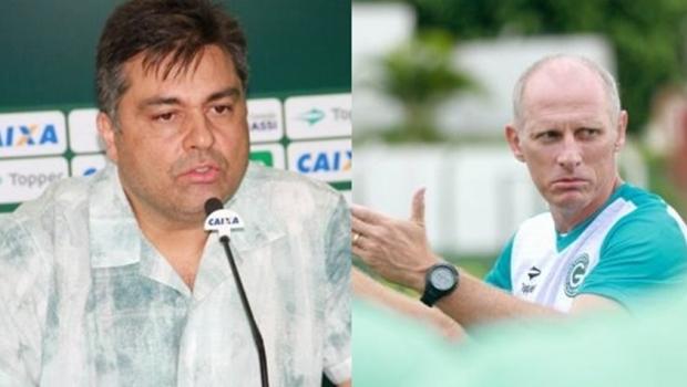 Marcelo Almeida é novo presidente do Goiás e Sílvio Criciúma assume como treinador