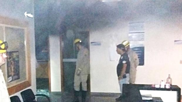 Incêndio danifica processos de Fórum de Itapaci e há suspeita de ataque crimininoso