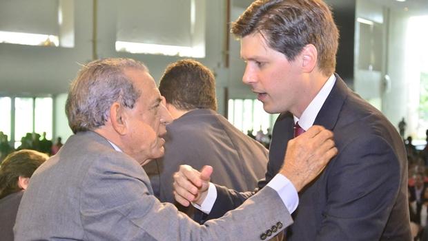 Daniel Vilela apresenta-se como novo mas quer Iris Rezende como principal cabo eleitoral
