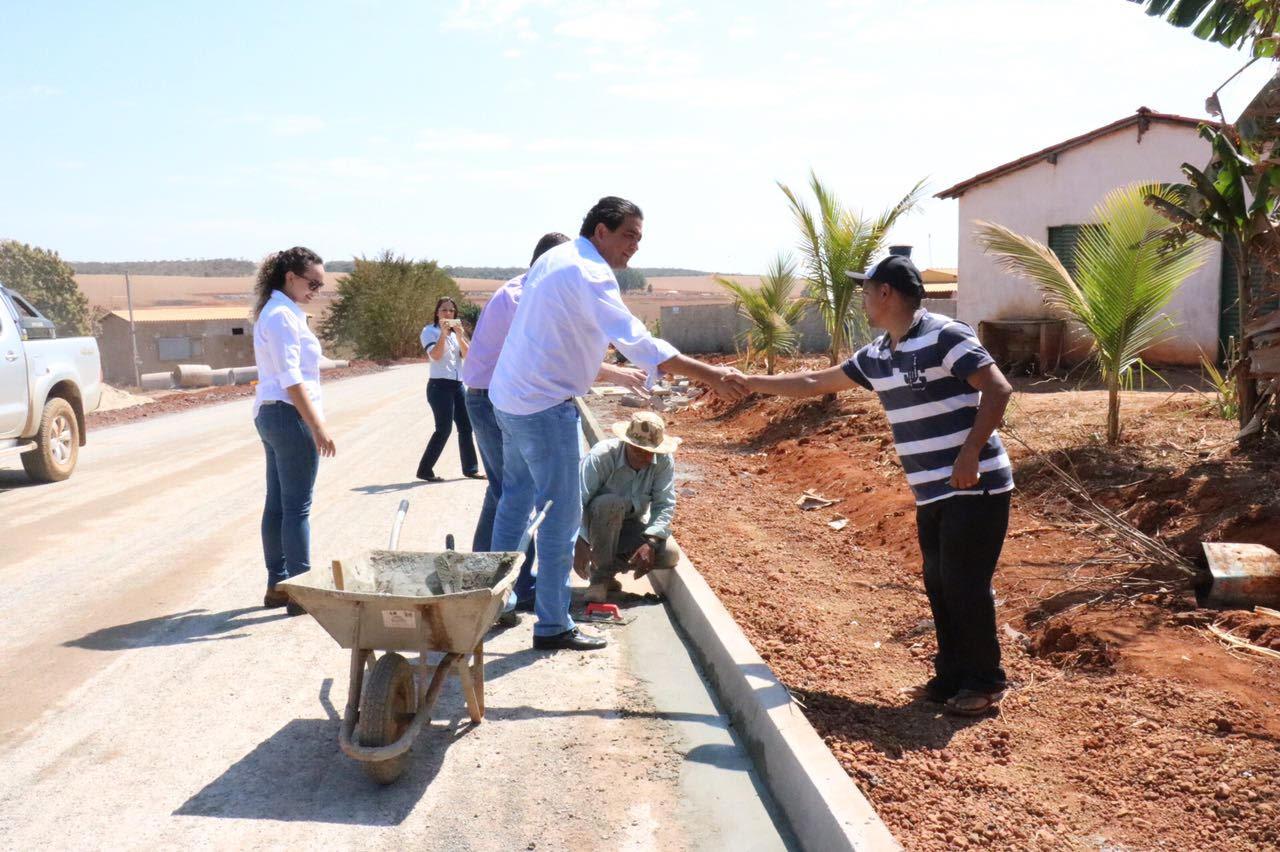 Programa Goiás na Frente conclui primeira obra no interior, em Gameleira