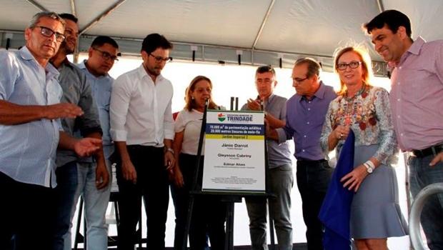 Prefeitura inaugura obras em comemoração aos 97 anos de Trindade
