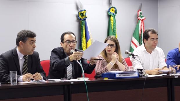 Leitura de relatório da CEI da Herança termina em confusão na Câmara de Goiânia