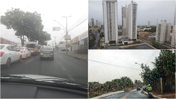 Tempo vira em Goiânia e chuva predomina a partir desta quarta (27)