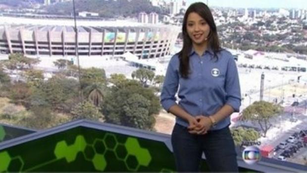 Apresentadora do Globo Esporte pede demissão