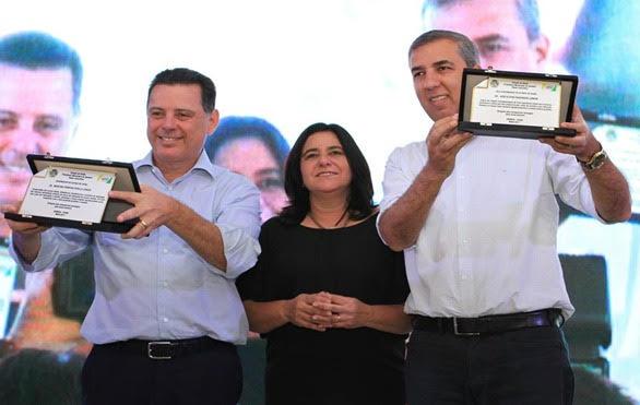 Prefeita de Ipameri reafirma compromisso com Marconi e apoio a Zé Eliton para governador