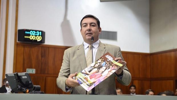 Vitti alcança marco histórico na produção legislativa do Parlamento de Goiás