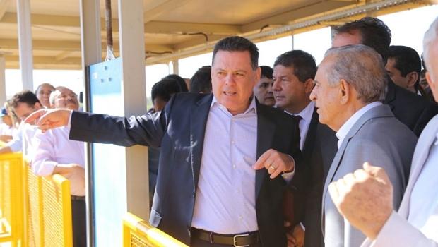 Governo de Goiás inaugura Estação de Tratamento de Água do Sistema Mauro Borges