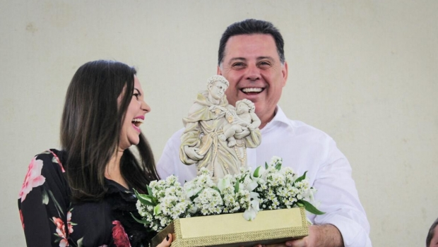 Em Santo Antônio de Goiás, Marconi anuncia duplicação de rodovia que liga a cidade até Goiânia
