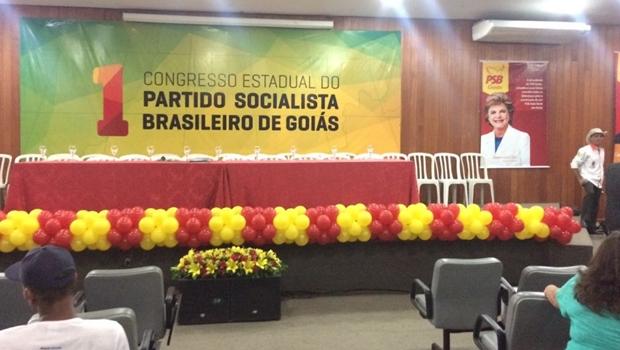 PSB Goiás realiza congresso na capital que deve reeleger Lúcia Vânia