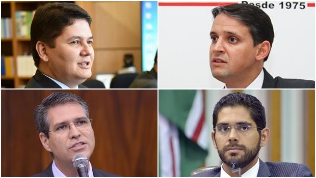 Heuler, Thiago, Tejota e Francisco pressionam Vilmar Rocha para apoiar José Eliton